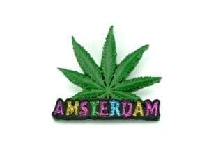 Magnet Leaf Amsterdam 12p
