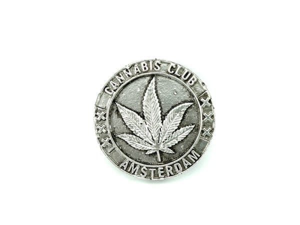 Magnet Silver Leaf 12p