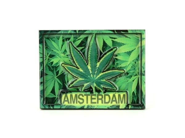 Magnet Amsterdam Leaf Rectangle