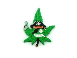 Hempy The Pirate Magnet