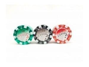 Poker-chips-grinders 3 parts