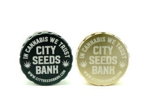 Grinder CSB Elegance Black and Gold 6p