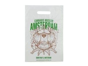 Plastic Bags Cannabis Museum Bear