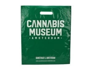 Plastic Bag Cannabis Museum Green