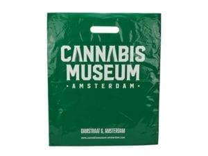 Plastic Bag Cannabis Museum Green