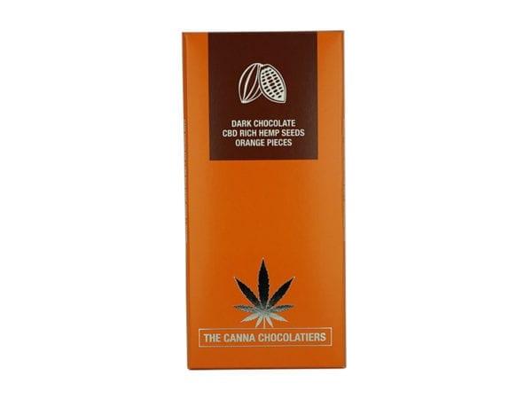 Canna Chocolatiers Dark Chocolate with Orange 100g