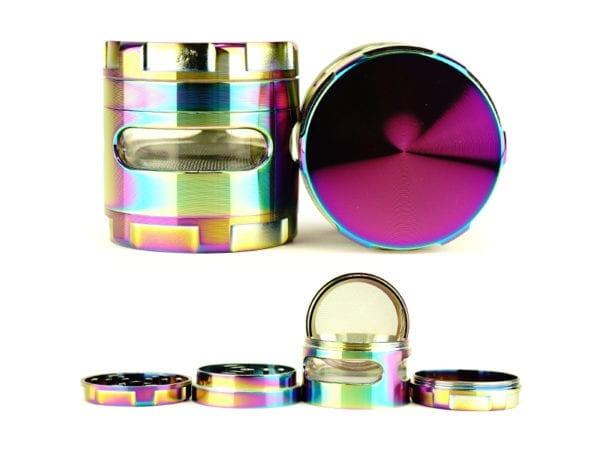 Plain Voyeur Edge Rainbow Grinder 6 piece
