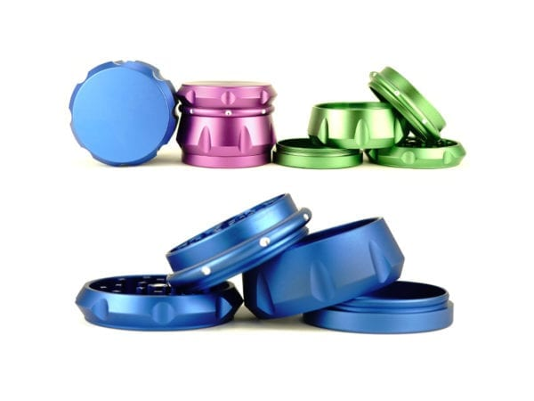 Plain Tank Mix Colour Grinders 6 pieces