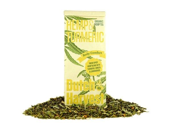 Dutch Harvest Hemp Tea - Hemp and Turmeric