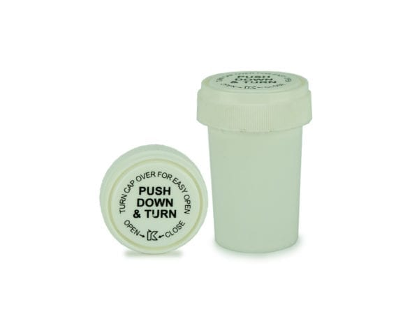 Push and Turn Storage Container