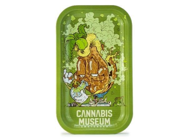 Cannabis Museum Bong Mascot Rolling Tray - Medium 27cmX16cm