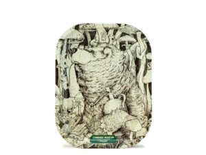 Cannabis Museum Fungi Rolling Tray – Small 18cmX14cm