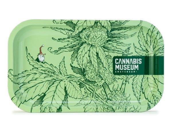 Cannabis Museum Moon Rolling Tray - Medium 27cmX16cm