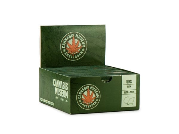 Cannabis Museum Rolling Papers - Dark Green